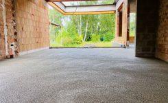 Réalisation Isolation du sol Greenbead construction neuve + rénovation à Malderen