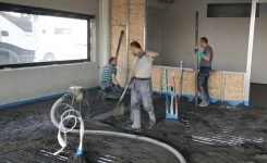 Realisatie uitvoeren van chapewerken in een kantoorgebouw te Gent