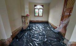 Realisatie EPS Isolatiemortel ter vervanging van betonplaat en vloerisolatie bij renovatie te Vilvoorde