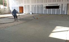 Realisatie  Greenbead low lambda – uitvoeren van vloerisolatie in een grootwarenhuis te Eisden